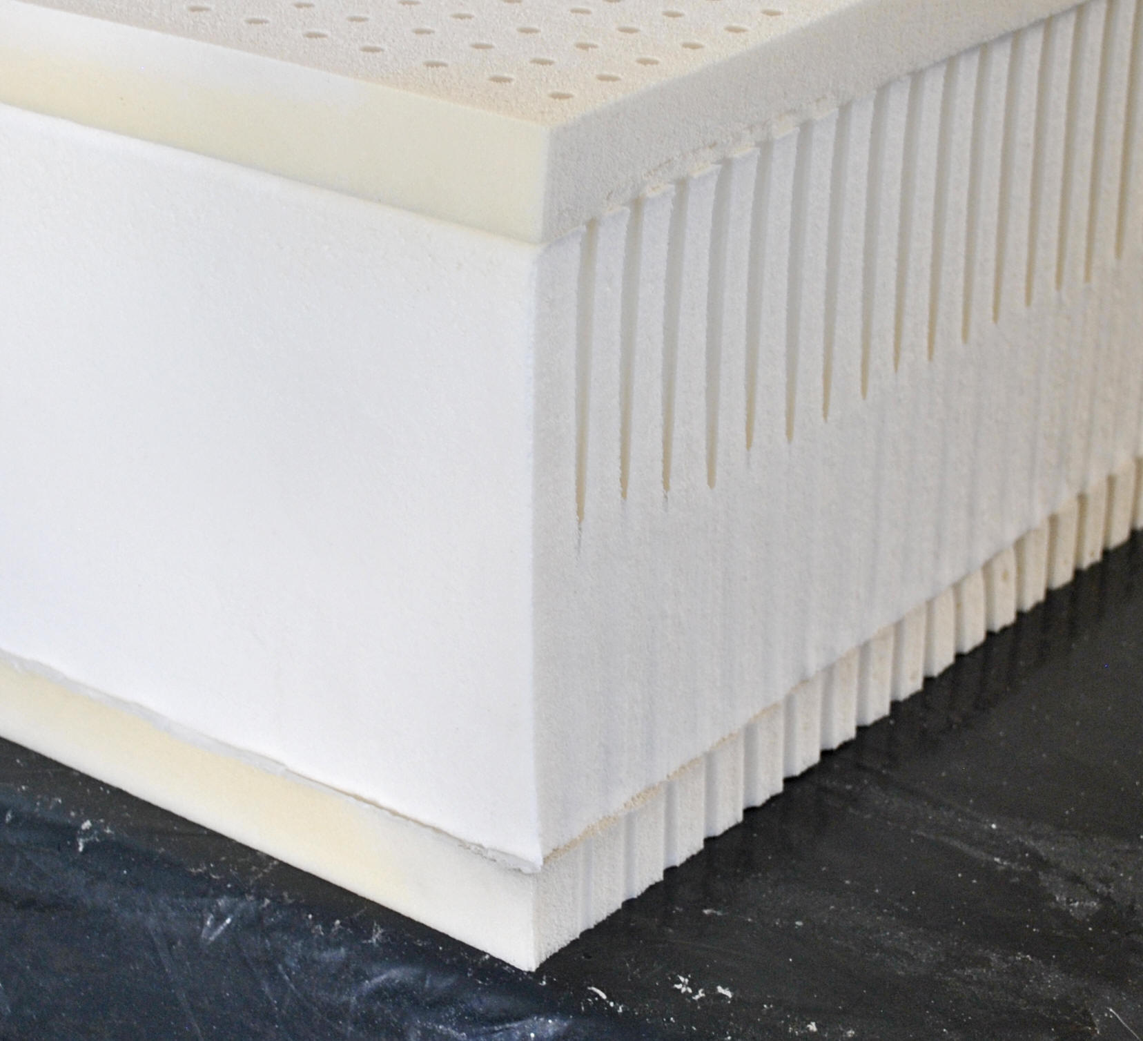 "9"" High Profile Latex Pasadena Natural Mattress"