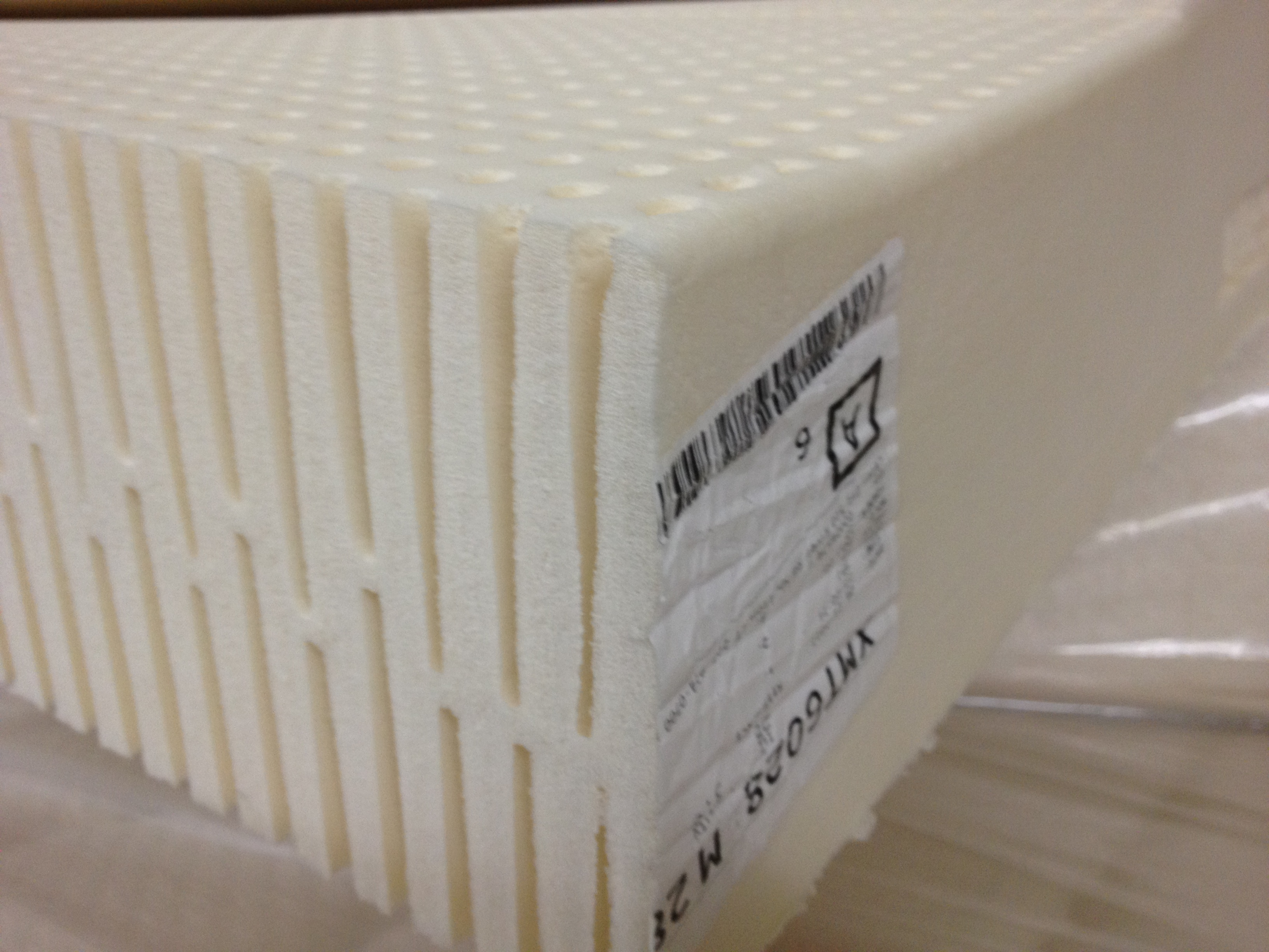 "7"" Talalay Pasadena Natural Mattress"