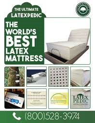 Los Angeles natural and organic latex mattress